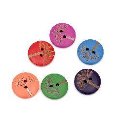 Копче дърво котва 20x4.5 мм дупка 1.5 мм МИКС -10 броя