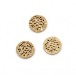 Nasture de cocos 15x2 mm gaură 1,5 mm -5 bucăți