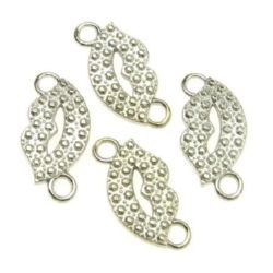 Jewellery making connector 25 x 12 х 2 mm