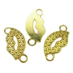 Jewellery making connector 25 x 19 х 3 mm