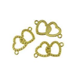 Jewellery making connector 27 x 13.5 х 2 mm