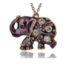 Elephant - metal charm 48 x 38 x 7  mm