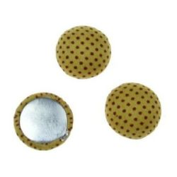 Beads cabochon type for gluing 18 x 8 mm