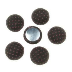 Beads cabochon type for gluing 13 x 6 mm