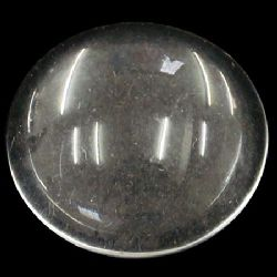 Cabochon Beads for glas, Half Round for Gluing, DIY, Clothes, Jewellery hemisphere 14x4 mm transparent -10 pieces
