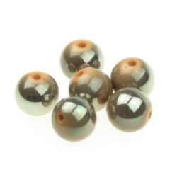 Acrylic beads UV coating  16 mm