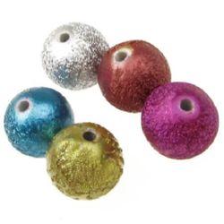 Acrylic beads 12 mm MIX