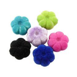 Floare 20x10 mm gaură 2 mm cu mușchi culoare -50 g ~ 21 bucăți