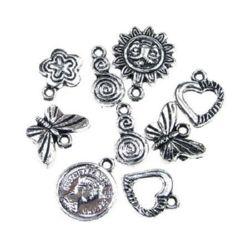 Jewellery charm 13 - 20 mm MIX