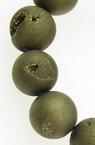 Șir de  mărgele de piatră semiprețioasă  AGAT bila de foraj 10 mm ~ 38 bucăți