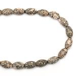 Наниз мъниста полускъпоценен камък ЯСПИС МИКС 15~34x7~34x4~7 мм -11~23 броя