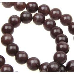 Gemstone Beads Strand, Aventurine, Round, Purple, 10mm, ~39 pcs