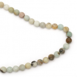 Gemstone Beads Strand, Amazonite, Round, 10mm, ~39 pcs