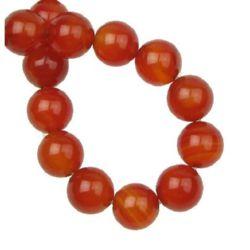 String carnival semi-precious stone beads 10 mm ~ 39 pieces