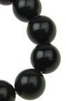 Наниз мъниста полускъпоценен камък ОРЛОВО ОКО топче 10 мм ~38 броя