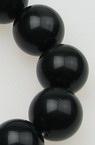 Наниз мъниста полускъпоценен камък ОРЛОВО ОКО топче 16 мм ~25 броя