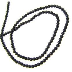 Margele cu șnur din piatră semiprețioasă margele PIATRA SOARELUI albastru, 2 mm ~ 200 bucăți