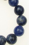 Gemstone Beads Strand, Sodalite, Round, 8mm, ~48 pcs