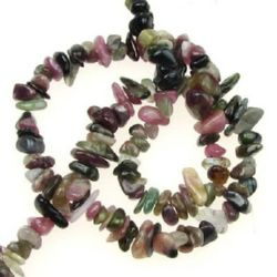 Premium Quality TOURMALINE Chip Beads Strand 3-5 mm ~ 80 cm