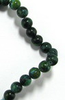 Gemstone Beads Strand, Chrysocolla, Round, 8mm, ~50 pcs