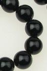 ONIX mărgele 8 mm gaură 1 mm șir mărgele piatră semi-prețioasă ~ 48 bucăți