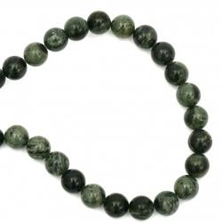 Margele sir piatră semiprețioasă Margele JASPICE CAMBABA 10 mm ± 37 bucăți