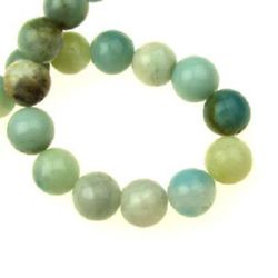 "Grade ""A"" AMAZONITE Round Beads Strand 12mm, ~ 32 pcs"