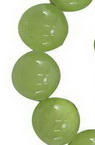 Gemstone Beads Strand, Natural Jade, Round, Green, 12mm, ~33 pcs