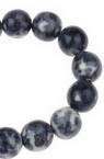 Наниз мъниста полускъпоценен камък ТЮРКОАЗ синтетичен цветен топче 10 мм ±38 броя
