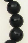 ONYX mărgele vopsită negru mat 10 mm șir mărgele piatră semiprețioasă ~ 39 bucăți