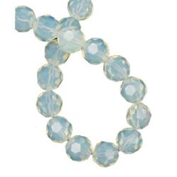 Faceted moonstone 10 mm