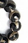 Sir  margele piatră semiprețioasă  AGAT alb-negru bila fetate10 mm ~ 37 bucăți