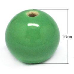 Porcelain beads 16 mm