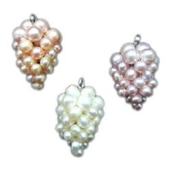 Mother-of-pearl charm 18~20x30~31 mm MIX