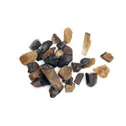 Естествен камък ТИГРОВО ОКО без дупка 2~8x2~4 мм -20 грама