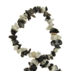 Gemstone Chip Beads Strand 5-7 mm ~ 90 cm JASPER ZEBRA Grade A