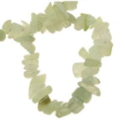 Grade A JADE Chip Beads Strand 5-7 mm ~ 90 cm