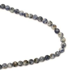 Naturale SODALITE Roun Beads Strand, Frosted 8mm ~ 48 pieces