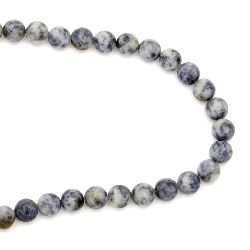 Naturale SODALITE Roun Beads Strand, Frosted10 mm ~ 38 pieces