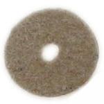 Шайба велур 10x2 мм бецевз тъмна -2.95 грама ~105 броя