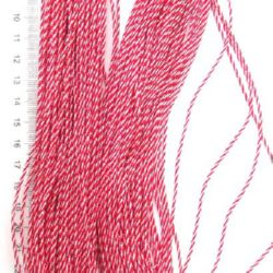 Шнур корда 1.5 мм ША1-6 полиестер коприна - 50 метра