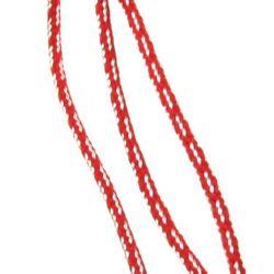 Snur rotund 3 mm mătase poliesterică SHA10-43 -50 metri