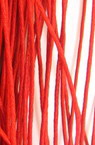 Шнур колосан 1 мм червен -50 метра