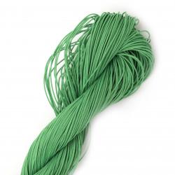 Κορδόνι συνθετικό με πετονιά 0,8 mm πράσινο -90 μέτρα
