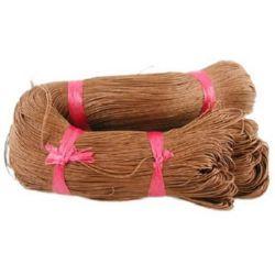 Шнур памук колосан 1.5 мм кафяв ~72 метра