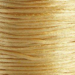 Шнур полиамид лъскав 1 мм екрю -10 метра