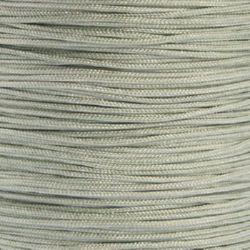 Шнур полиамид лъскав 1 мм сив -10 метра