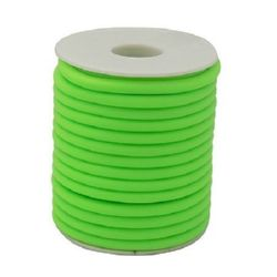 Шнур силикон 2 мм дупка 0.5 мм резедав -52 метра