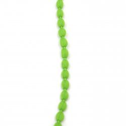 Шнур полиестер 10 мм зелен -5 метра