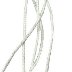 Шнур памук колосан 1.2 мм бял ~86 метра
